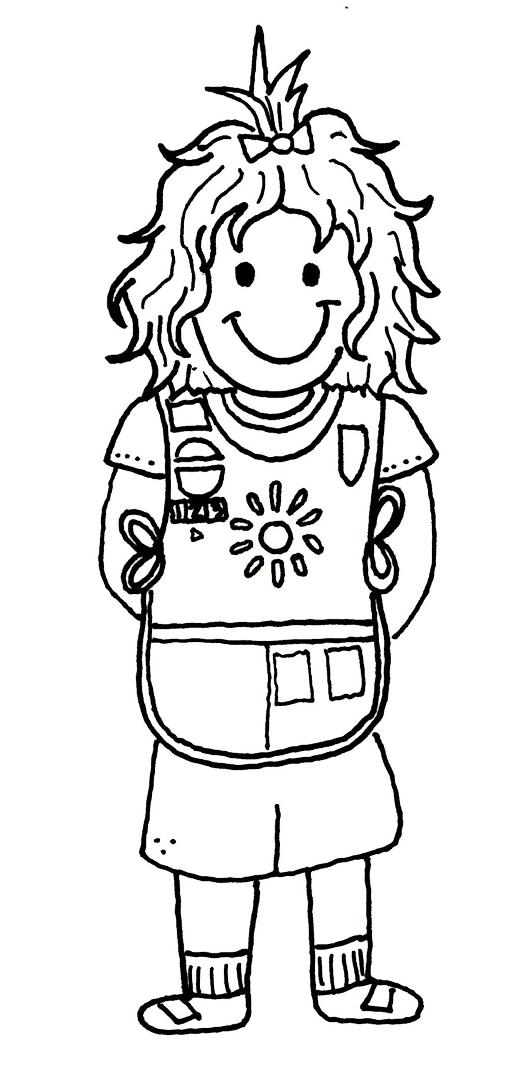 Brownies girl scout law pages coloring pages for Girl scout coloring pages