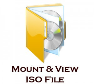 burn iso file