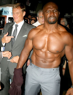 Terry Crews Shirtless