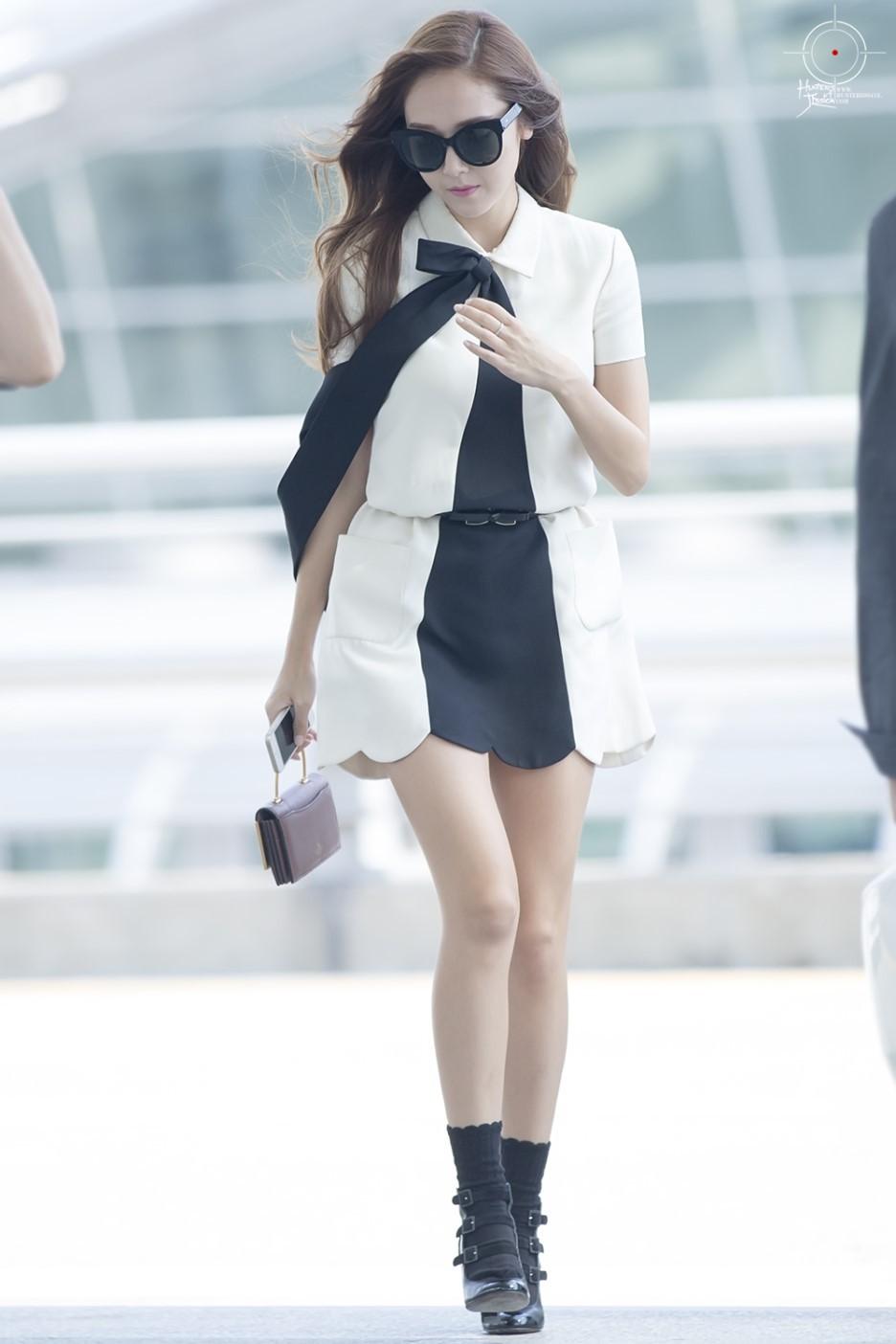 Jessica Airport Fashion 2015 Official Korean Fashion