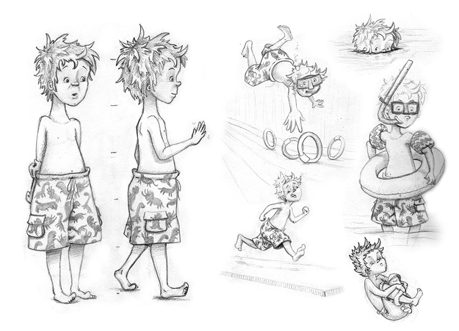 at the very least it is a good way to practice drawing the character consistently - Sketches Of Kids