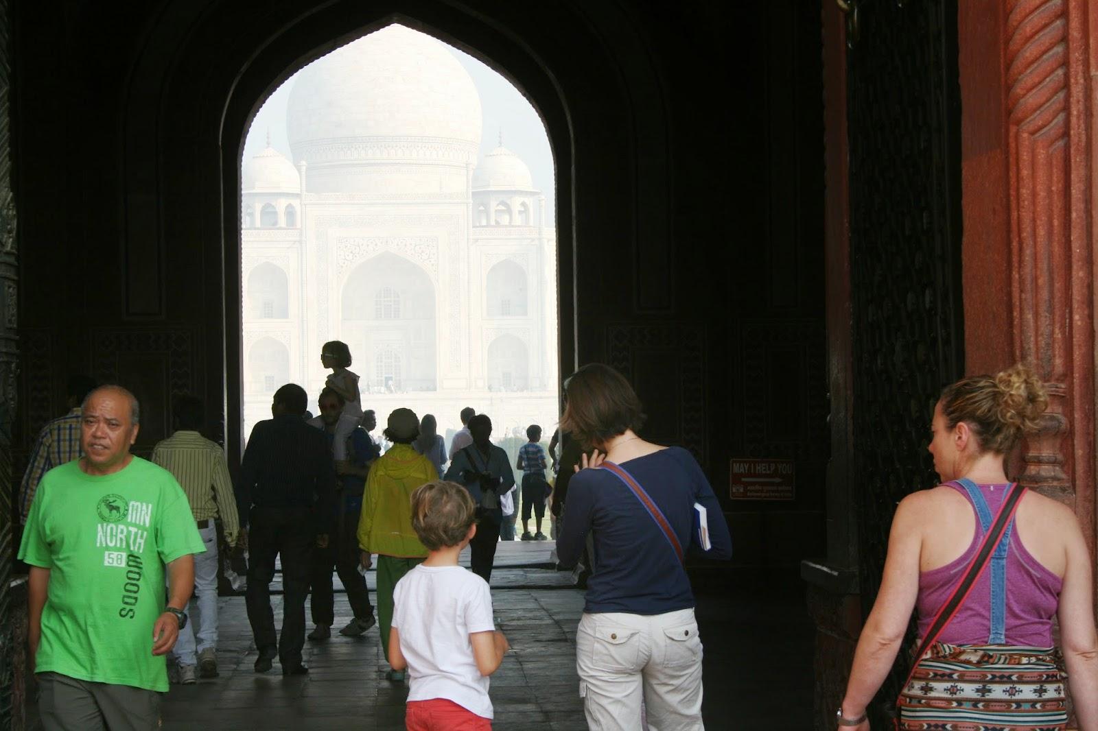 Viaje a India: Taj Mahal en Agra