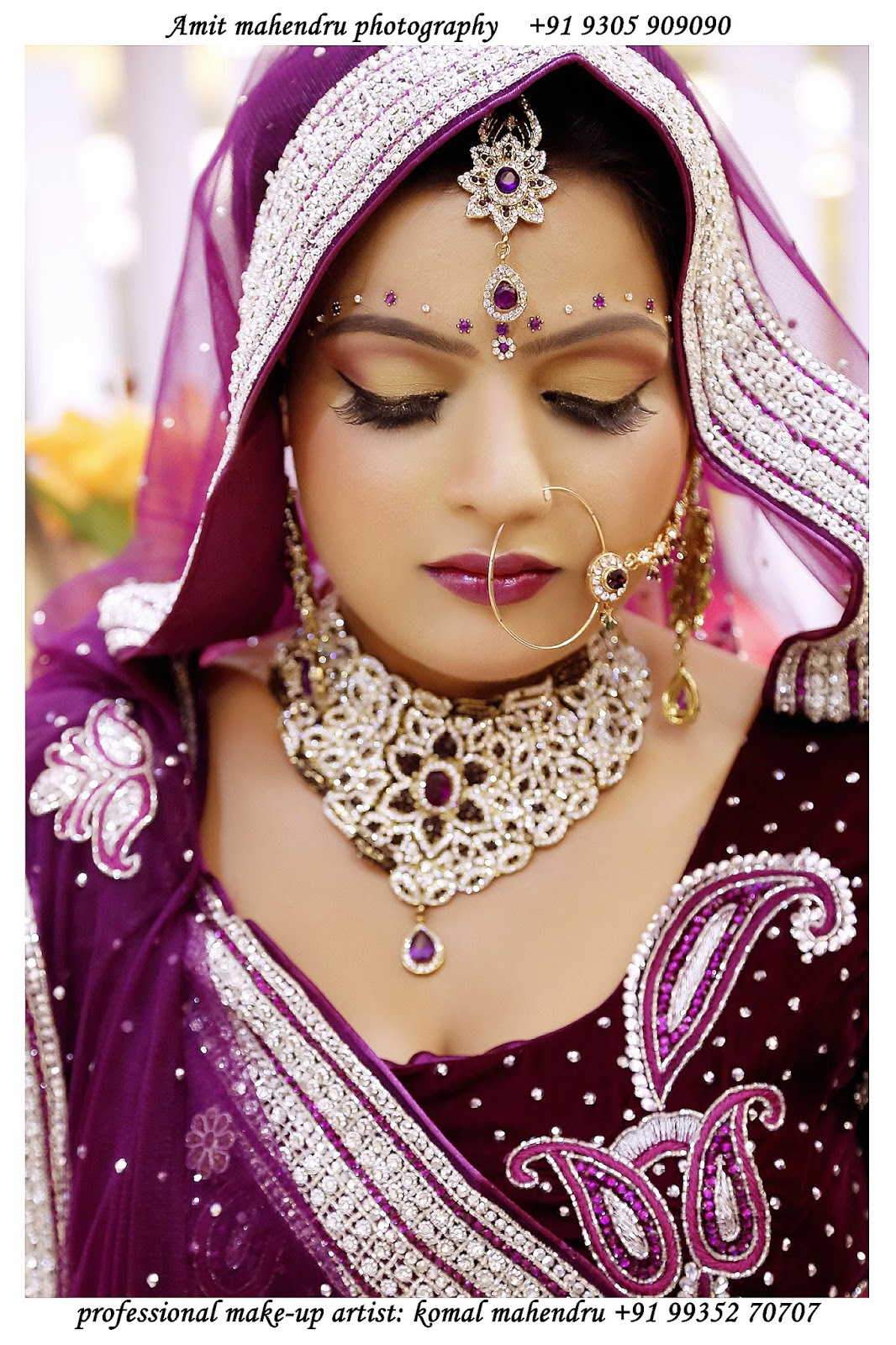 Komal mahendru s professional makeup lucknow india bridal makeup - Best Bridal Makeup Artist In Lucknow