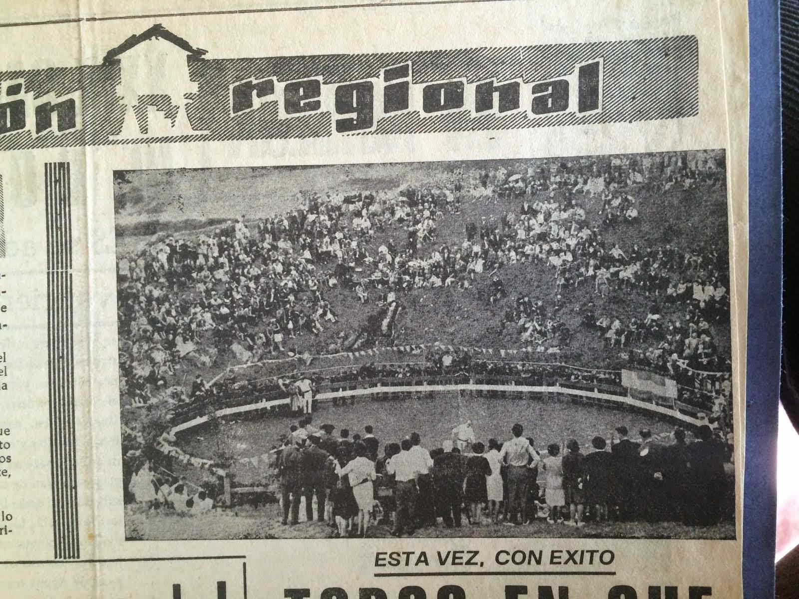 TOROS EN LLANES CUE