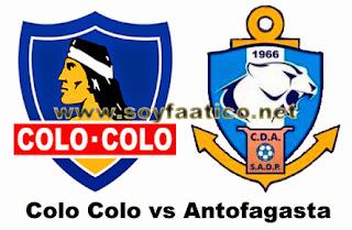 Colo Colo vs Antofagasta 2015