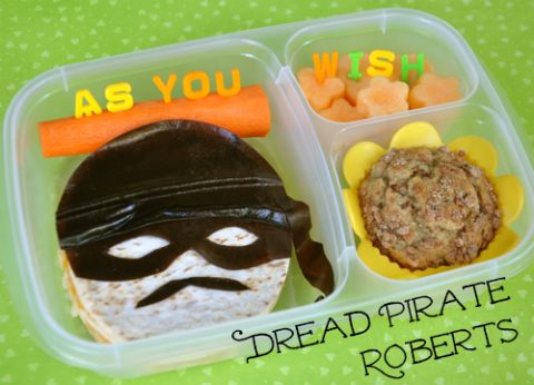 The Princess Bride Dread Pirate Roberts bento - As You Wish!