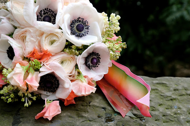 Courtenay Lambert Florals, Anemones, Ranunculus, Sweet Pea, Lilac, Bouquet, Cincinnati, wedding, florist, event, design, Chapel Designers, New York city, Central Park