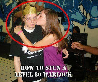 how to stun a level 80 warlock
