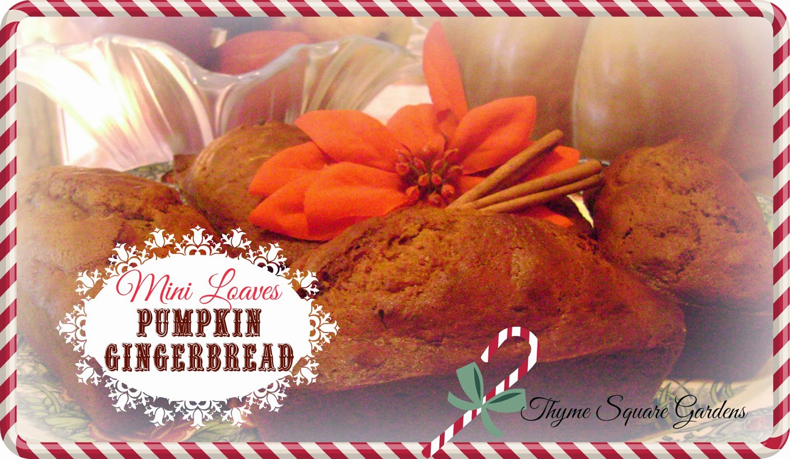 ... pumpkin gingerbread will be a sure hit with you r family and friends