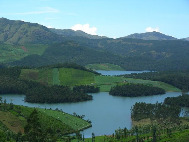 View from Ooty, Tamil Nadu.