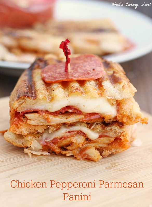 Chicken Pepperoni Parmesan Panini & Hormel Pepperoni - Whats Cooking ...