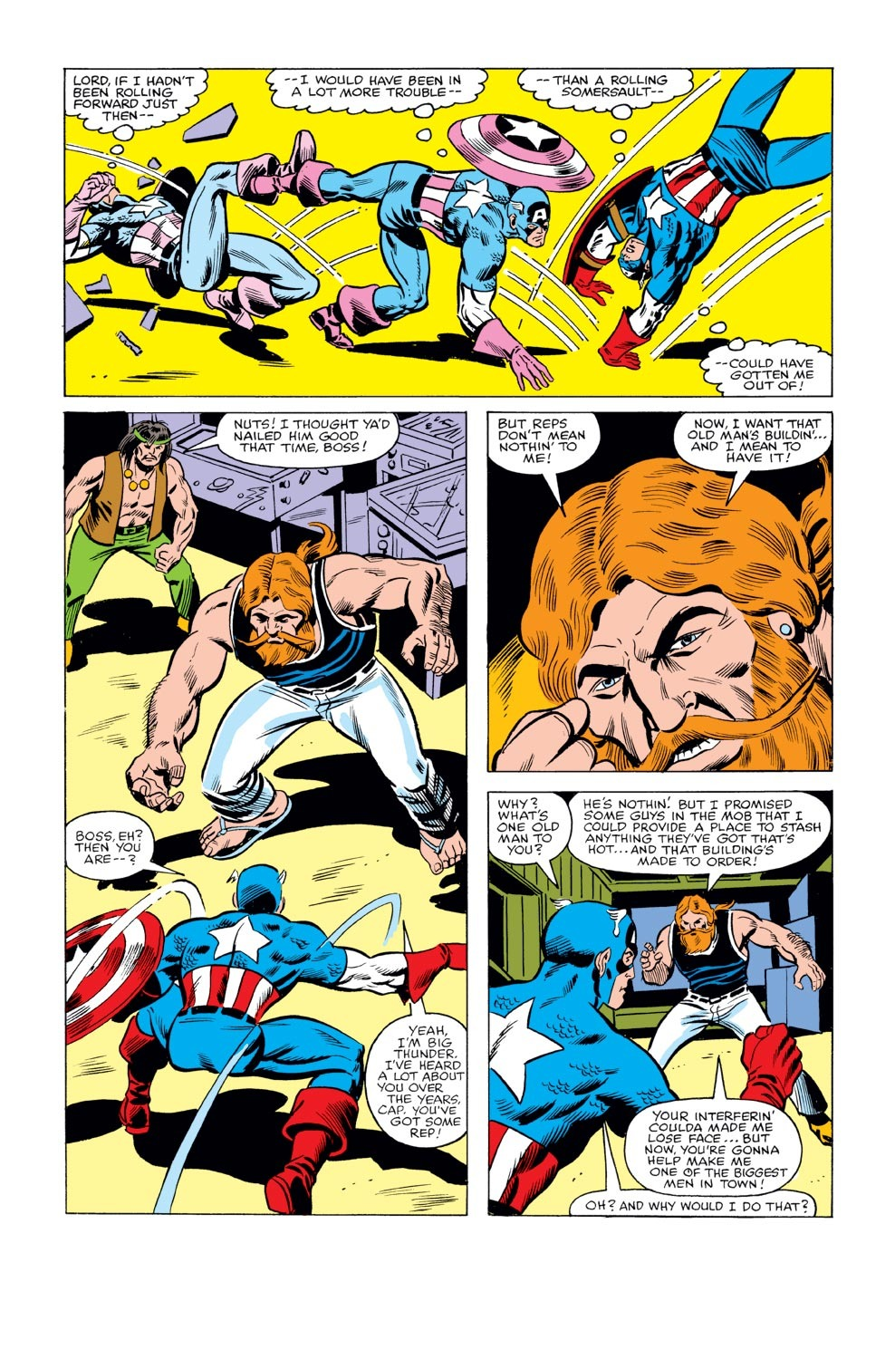 Captain America (1968) Issue #240 #155 - English 11