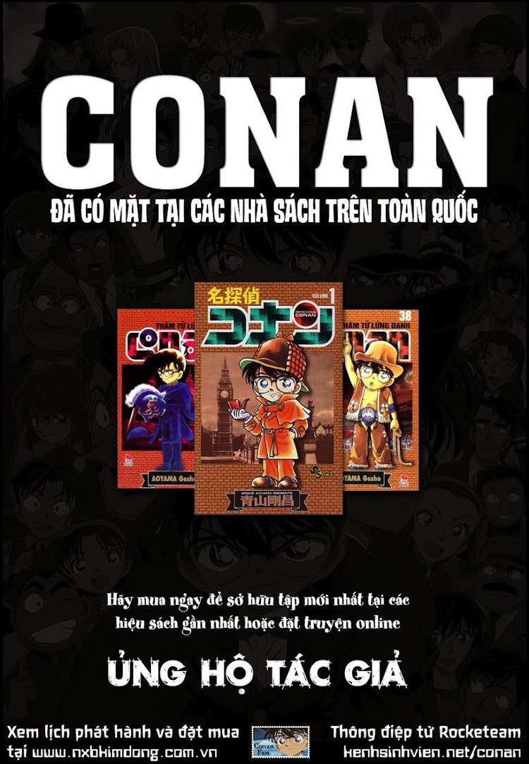 Detective Conan - Thám Tử Lừng Danh Conan chap 812 page 1 - IZTruyenTranh.com