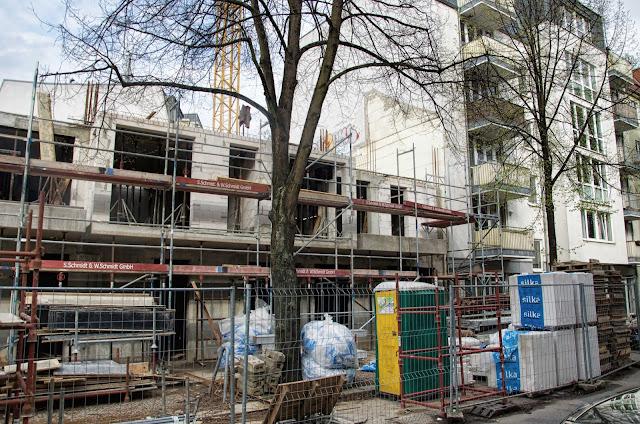 Baustelle Neubau, Gustav-Adolf-Straße / Streustraße, 13086 Berlin, 07.04.2014