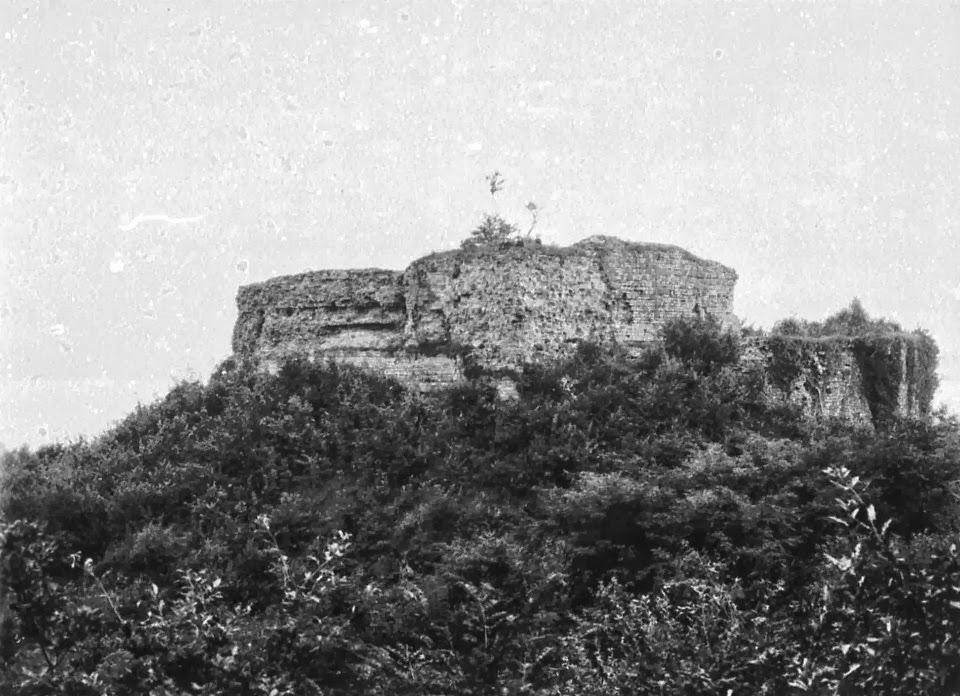 Die älteste Ansicht der Schauenburg?