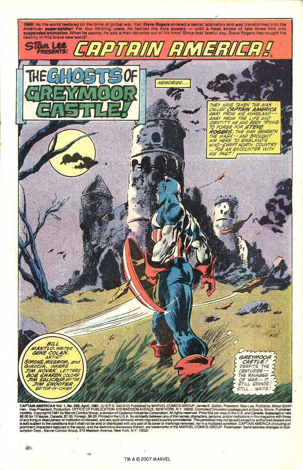 Captain America (1968) Issue #256 #171 - English 3