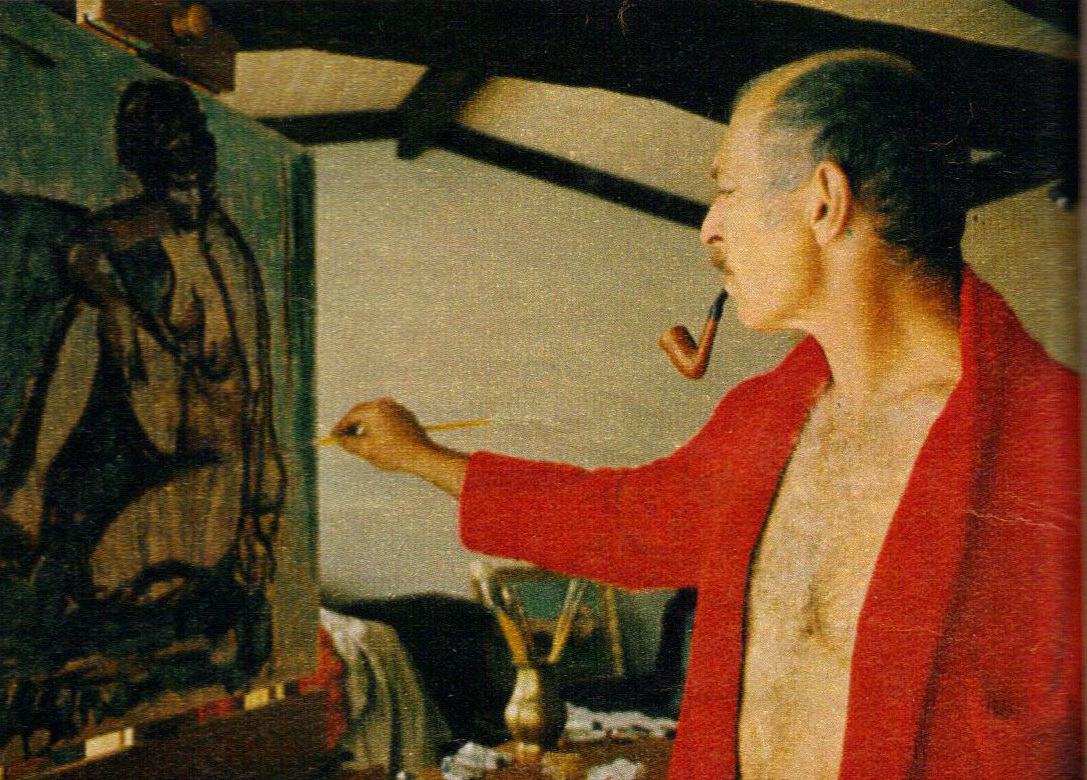 The lee van cleef blog lvc the painter for Lee s painting
