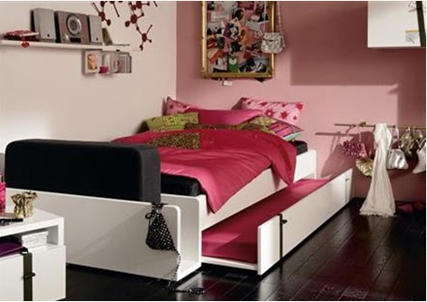 Ideas and tips to decorate a bedroom and looks girly Big Solutions