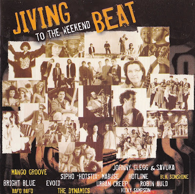 JIVING TO THE WEEKEND BEAT (Various Artists) south african disco jive dance pop 80\'s
