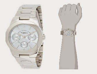 Amazon: Buy Timex E Class Analog Blue Dial Women's Watch at Rs. 1295