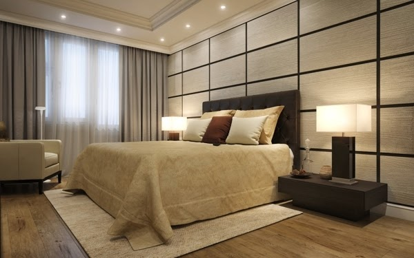Small apartment interior design in moscow 60 sq m dolf for Wooden interior design for bedroom