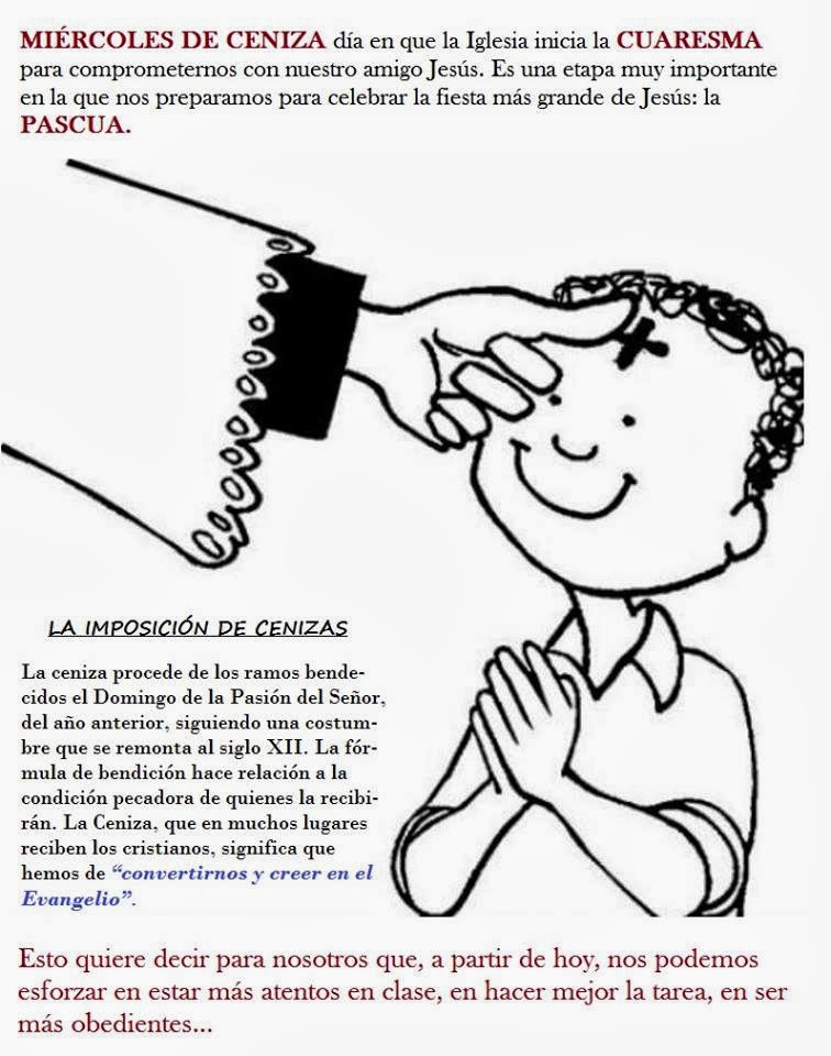 Pastoral del Sordo de Valencia: Catequesis Miércoles de Ceniza