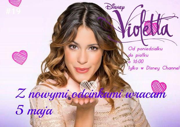 Już jutro zobaczymy nowe odcinki Violetty. Zapraszam do dalszej