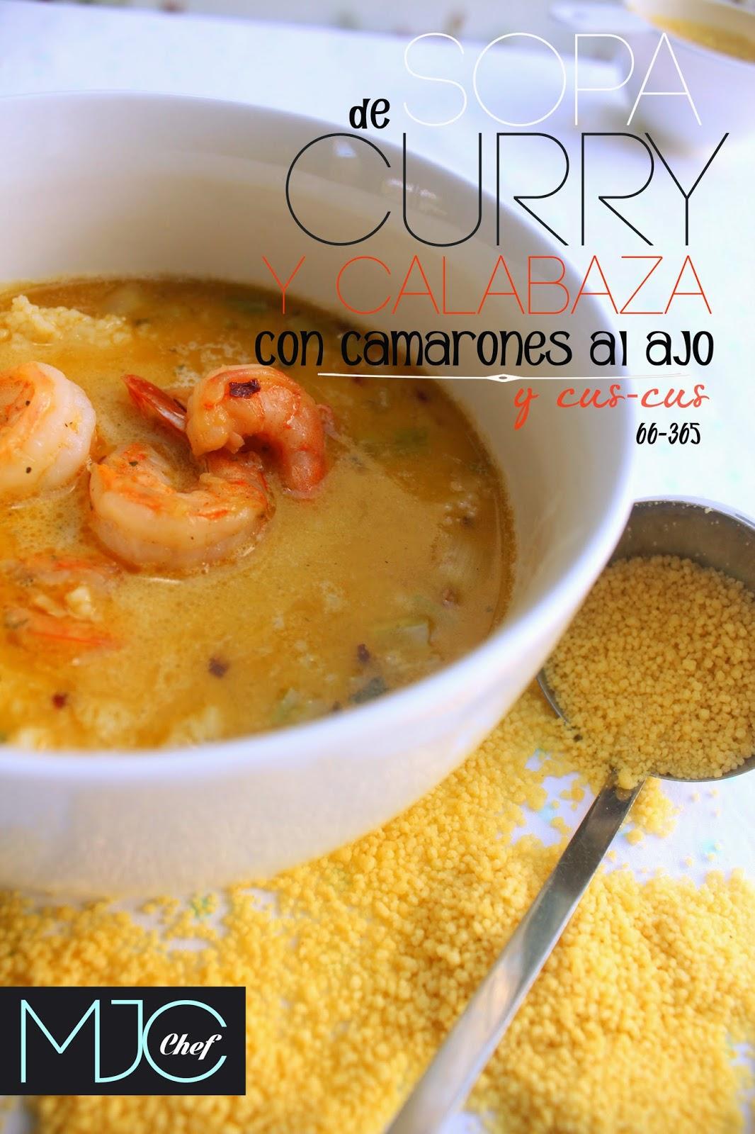 Sopa de curry