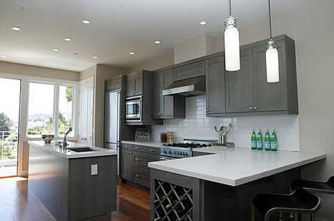 This Design Technique Opens Up A New Color Wheel Of Options For Your New  Kitchen. Toss Up Stainless Steel Hardware And Bold Backsplash Tiles For A  ...