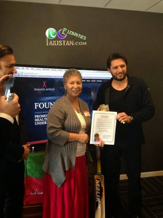 Mayor of Port Arthur, United States Declares February 5 'Shahid Afridi Day'