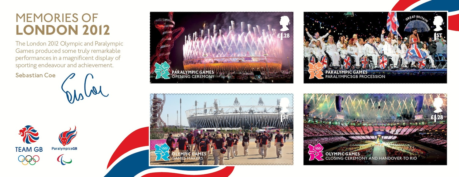Memories of London 2012 miniature sheet.