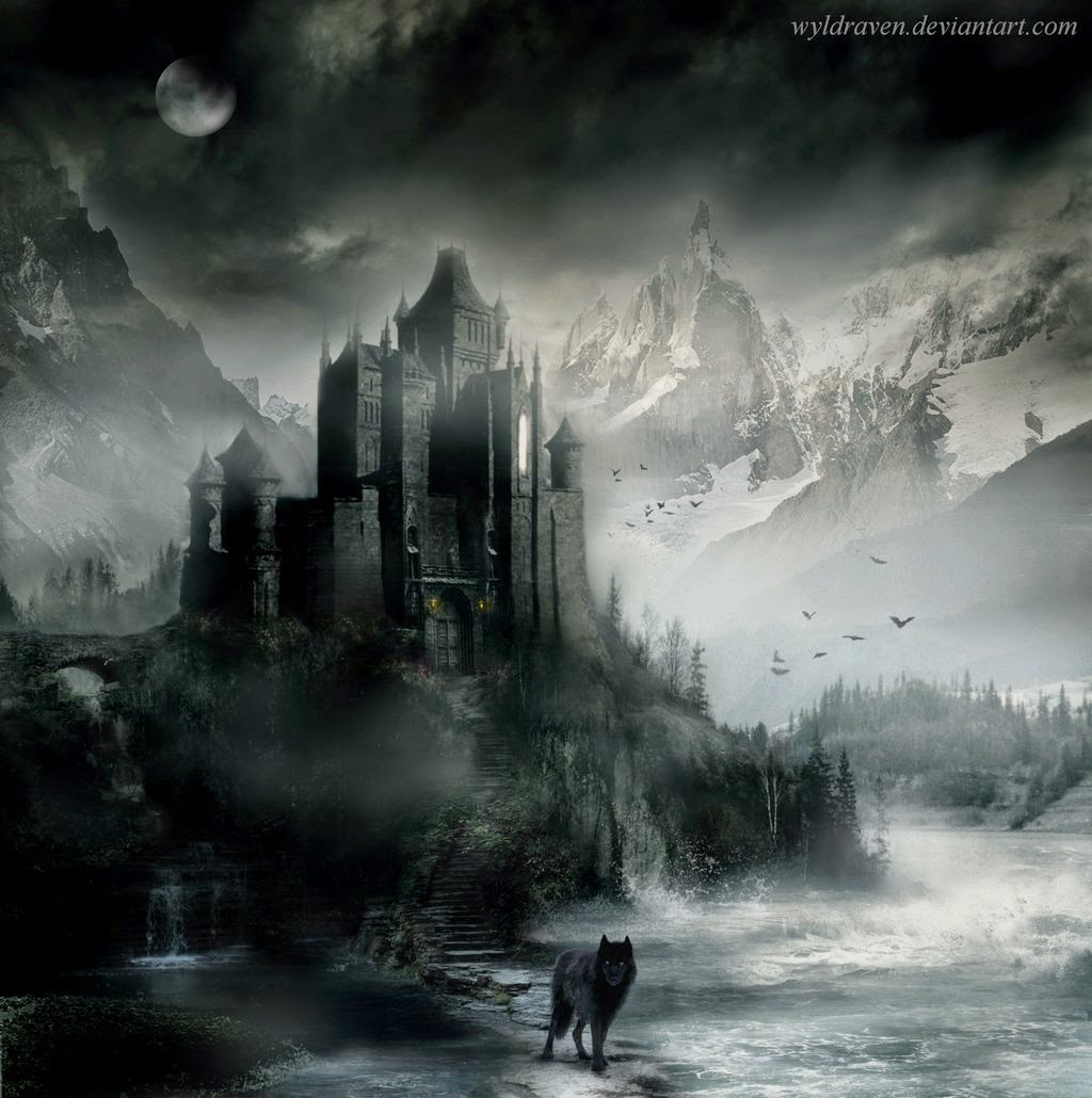 10-The-Masters-Castle-wyldraven-Surreal-Night-Time-Photo-Manipulation-www-designstack-co