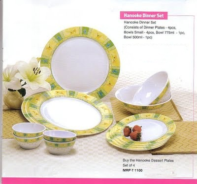 Tupperware Hanooke Dinner Set : tupperware dinner plates - pezcame.com