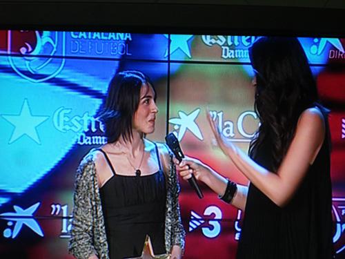ANNA COSTA LA MILLOR JUGADORA DE CATALUNYA 2012