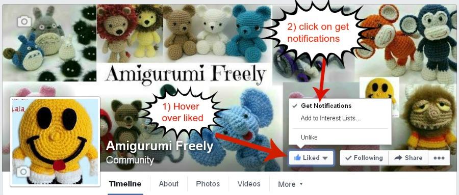 Amigurumi Freely To Go : Facebook Is Hiding Your Favorite Pages! ~ Amigurumi To Go