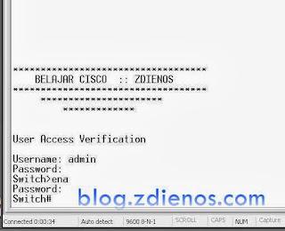 Cara Membackup Konfigurasi Perangkat Cisco Menggunakan Hyperterminal
