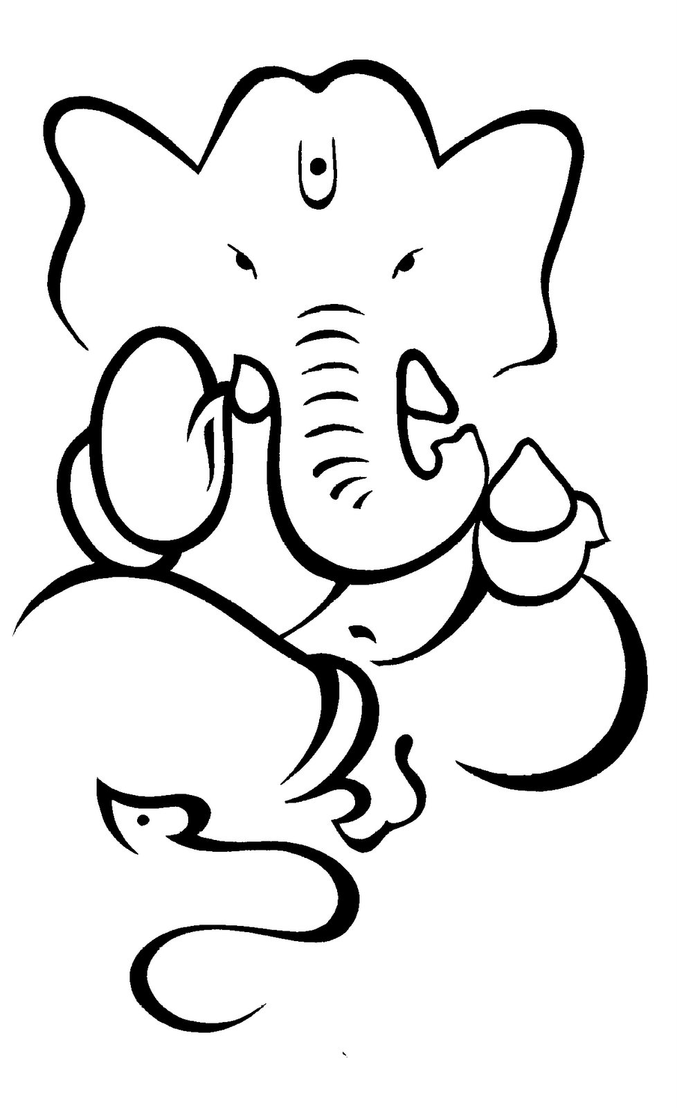 Line Drawing Ganesha : Of cabbages and kings quot hijack ganesh ji