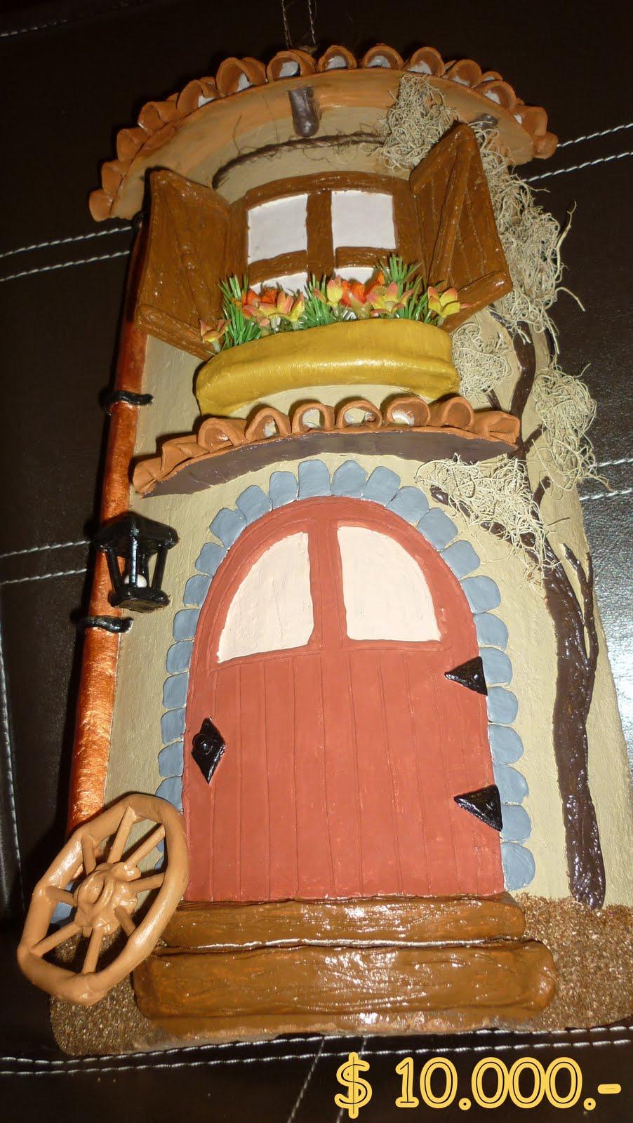Artesan as carolina mart nez tejas decoradas en relieve - Casas con ruedas ...