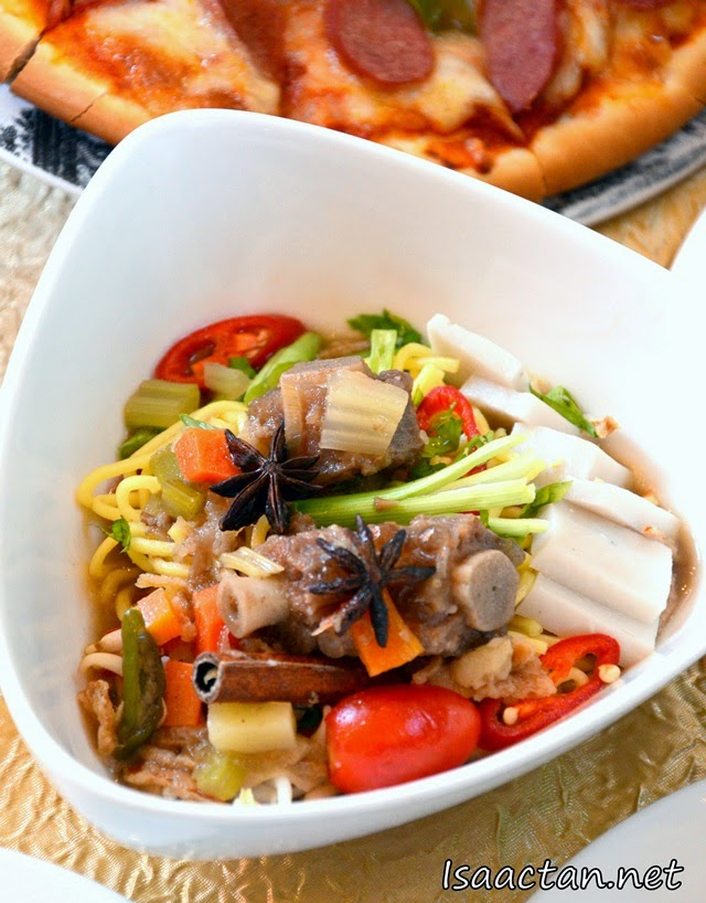 Mixed vegetables with meat
