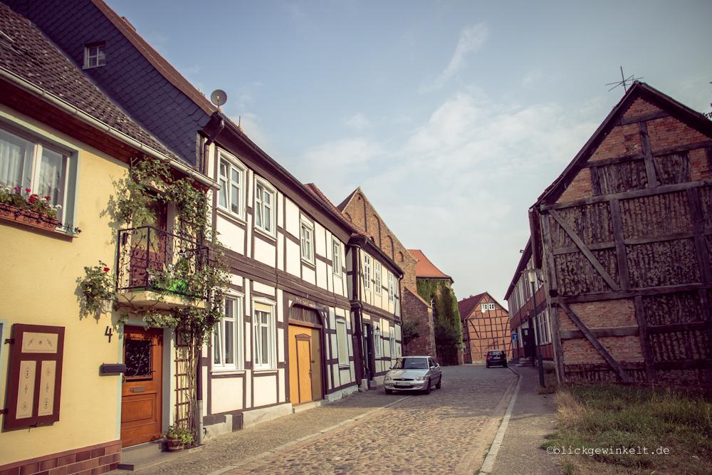 Fachwerkhäuser in Lenzen