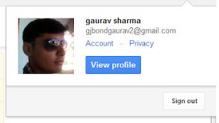 Google Account Profile Image