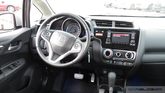 Honda Fit 2016 EX - interior
