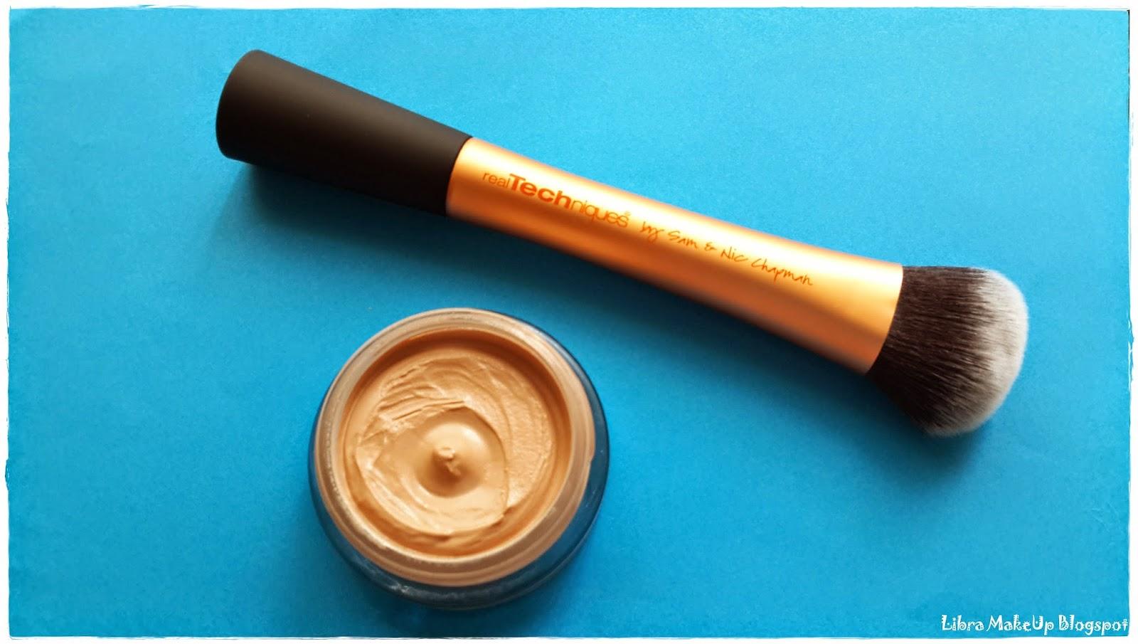 cream foundation brush, krem fondöten fırçası
