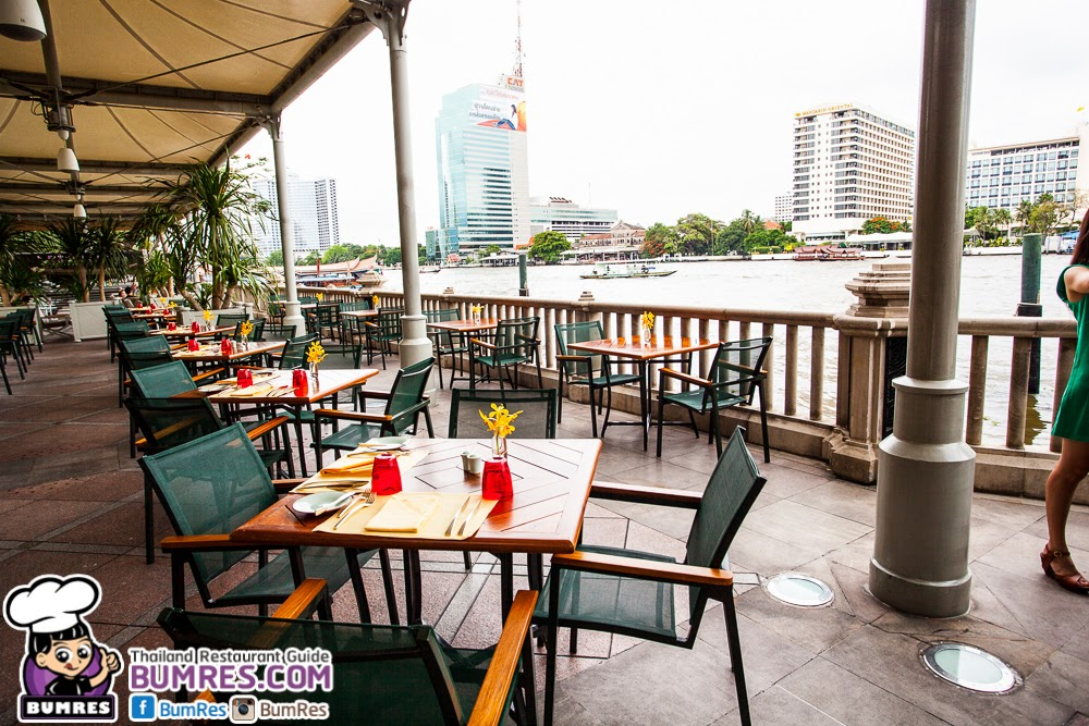 Restaurant review bangkok mostly all around the for 22 river terrace review