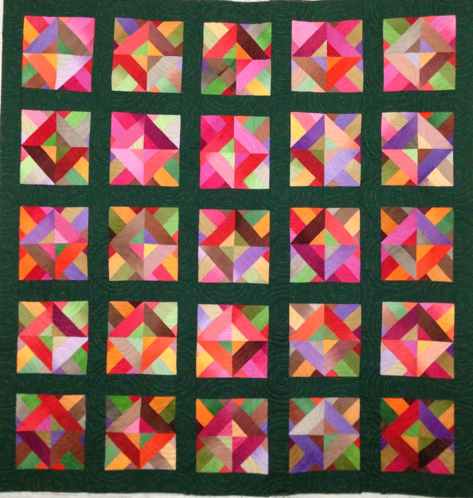 Laura Joy's Geometric Quilt