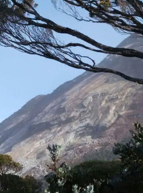 Gambar selepas gempa bumi sabah