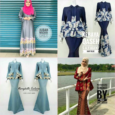 CAntik Semuanya Koleksi Pakaian muslimah terkini semua menawan