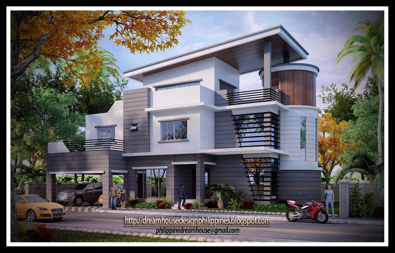Philippine dream house design three storey house for 3 story house design