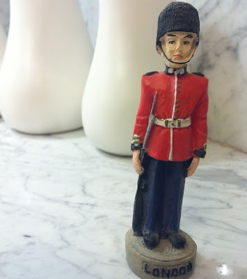 London toy soldier