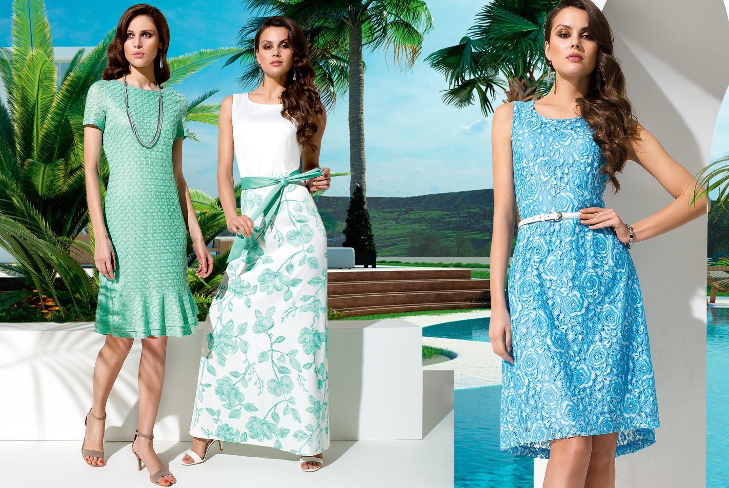 Фото новых коллекции летних платьев